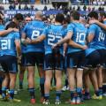 Rbs Sei Nazioni 2016, round 2, Roma, Stadio Olimpico 14/02/2016, Italia v Inghilterra, il cerchio degli Azzurri ascolta il capitano.